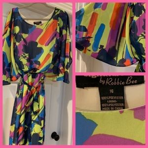 Woman's multicolor size 16 Dress
